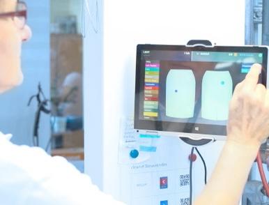 Digitale Fleckenmarkierung